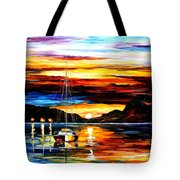 Drowned Sunset Tote Bag