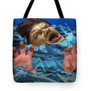 Drowning In Wealth Tote Bag