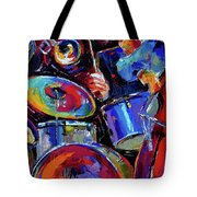 Drums And Friends Tote Bag
