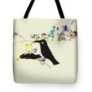 Drunkin Birds Come Calling Tote Bag