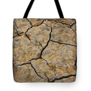 Dry Cracked Lake Bed Tote Bag