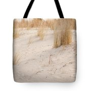Dry Dune Grass Plants Tote Bag