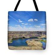 Dry Falls Overlook Tote Bag