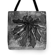 Dry Leaf Collection Bnw 1 Tote Bag