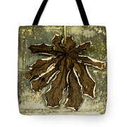 Dry Leaf Collection Natural Tote Bag