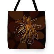 Dry Leaf Collection Psychedelic Tote Bag