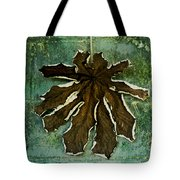 Dry Leaf Collection Wall Tote Bag