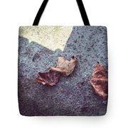 Dry Leaves Tote Bag