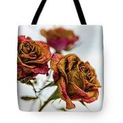 Dry Roses Tote Bag