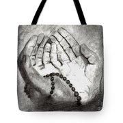 Dua -hands Of Faith No. Six Tote Bag
