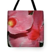Dual Beauty In Pink Tote Bag