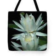 Dual Lilies Tote Bag