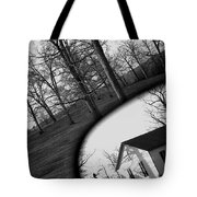 Duality - A Black And White Photograph Symbolically Representing The Gravity Of Choice  Tote Bag
