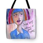Dubious Jane Tote Bag