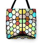 Dublin Art Deco Stained Glass Tote Bag