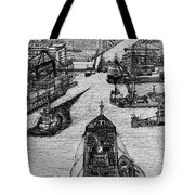 Dublin Port  Tote Bag