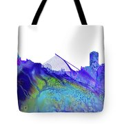 Dublin Skyline Tote Bag