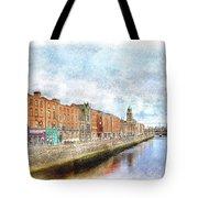 Dublin Watercolour Tote Bag