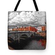 Dublin's Fairytales Around Grattan Bridge 2 V3 Tote Bag