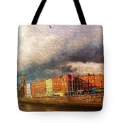 Dublin's Fairytales Around  River Liffey 2 Tote Bag