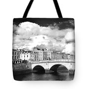 Dublin's Fairytales Around  River Liffey 3 Bw Tote Bag