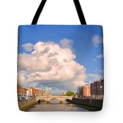 Dublin's Fairytales Around  River Liffey Tote Bag