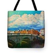 Dublin's Fairytales Around  River Liffey V4 Tote Bag