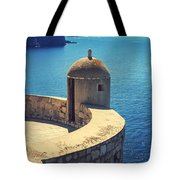 Dubrovnik Fortress Wall Tower Tote Bag