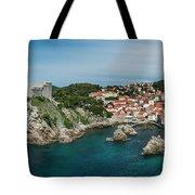 Dubrovnik Panorama Tote Bag