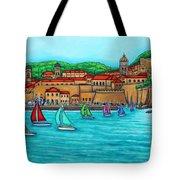 Dubrovnik Regatta Tote Bag