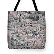 Dubrovnik Rooftops #2 Tote Bag