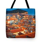 Dubrovnik Rooftops Tote Bag