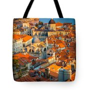 Dubrovnik Sunset Tote Bag