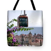 Dubrovniks Cable Car Tote Bag