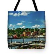 Dubuque Harbor Tote Bag