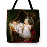 Duc De Bordeaux In His Cradle  Tote Bag