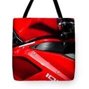 Ducati 1098 Motorcycle -0893c Tote Bag