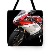 Ducati 1098s Motorcycle Tote Bag