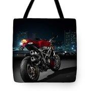 Ducati By Moonlight Tote Bag