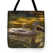 Duck Tote Bag by Atul Daimari