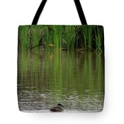 Duck Blinds Tote Bag