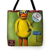 Duck Boy For President Tote Bag