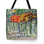 Duck Decoy Tote Bag