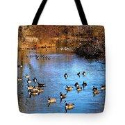 Duck Duck Goose Goose Tote Bag