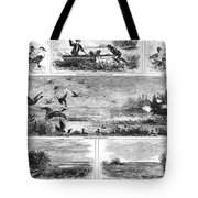 Duck Hunting, 1868 Tote Bag