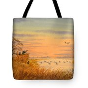 Duck Hunting Calls Tote Bag