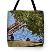 Duck Into The Shade Tote Bag