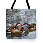 Duck Love Tote Bag