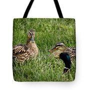 Duck Meeting At Frankenmuth Tote Bag