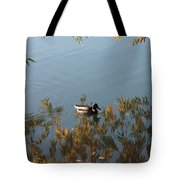 Duck On Golden Pond Tote Bag